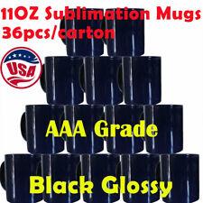 36pc 11oz Blank Heat Transfer Sublimation Mugs Magic Cup Full Color Changing Mug