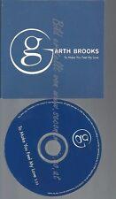 CD--PROMO--GARTH BROOKS--TO MAKE YOU FEEL MY LOVE --1TRACK