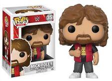 """Funko WWE Mick Foley Old School Pop 3.75"""" Vinyl Figure IN STOCK"""