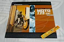 HONDA 125 CITYFLY REBEL SHADOW CM/125 CRM NSR Brochure pub moto 2000