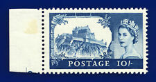 More details for 1959 sg597 10s blue 2nd dlr t17 unmounted mint cat £55 djio