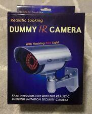 Masione Outdoor Fake Camera Dummy Security Camera with 30 Illuminating LED