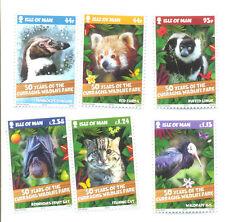 Isle of Man Wildlife Park MNH Set (2015-luglio)
