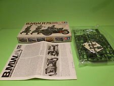 TAMIYA 3516 BMW R75 MOTOR CYCLE SIDE CAR MILITARY - ARMY 1:35 - NEAR MINT IN BOX