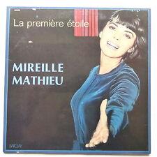 MIREILLE MATHIEU La premiere étoile 80392 Avec poster rabat languette