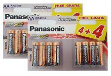 16 X Panasonic AA Batteries Everyday Power Argent LR6 Alcaline