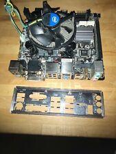 Gigabyte GA-H81N Mini-ITX LGA1150 + Intel G3240 CPU + Intel Cooler + BP