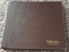 Silvertone Selections 10 VINYL RECORDS VARIOUS ARTIST RED RECORD ALBUM