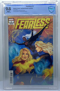 Fearless #1 CBCS 9.8 (Marvel Comics 2019) 1:50 Retail Incentive ~ Jen Bartel CGC