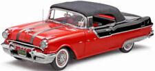 1955 Pontiac Star Chief Closed Convertible. Red Sun Star 5054 1/18 RARE COLOR