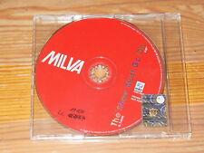 MILVA - THE SHOW MUST GO ON / 1 TRACK PROMO-MAXI-CD 2007