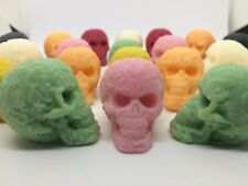 Skull Wax Melts x 20 Gothic Decor, Horror, Creepy, Skull Candle, Bathroom Decor