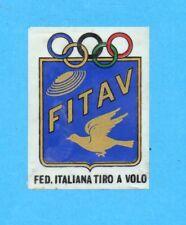 CAMPIONI DELLO SPORT 1966/67-PANINI- STEMMA FITAV TIRO A VOLO -Recuperato