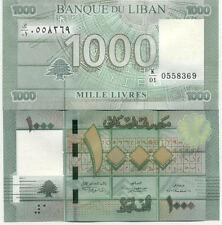 Billet banque LIBAN LEBANON 1000 livres 2011 NEUF NEW UNC