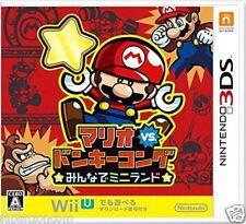 Used 3DS Mario Vs. Donkey Kong    NINTENDO 3DS JAPANESE  IMPORT