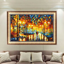 DIY Colorful Trees Counted Cross Stitch 5D Diamond Embroidery Kit Home Decor