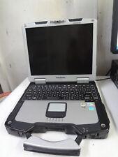 PANASONIC CF-30 TOUGHBOOK LAPTOP CORE 2 DUO 1.60GHZ 4GB RAM WIFI  DVD/RW -NO HDD