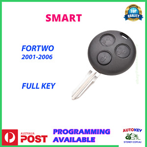 SMART FORTWO KEY REMOTE W450 2001 2002 2003 20014 2005 2006