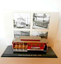 Atlas Tram Cable Car (Ferrier & Cliff) 1888 Scale 1/87 [n.2519002]7519005