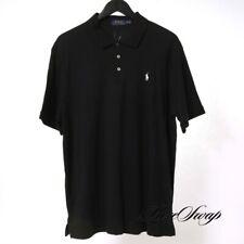 LNWOT RECENT Polo Ralph Lauren Classic Fit Black White Pony Polo Shirt XL SPRING