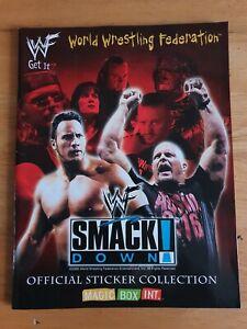 WWF Smackdown Sticker Album - 2000 - Magic Box Int.