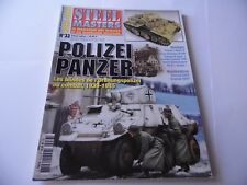 STEEL MASTERS HORS-SERIE ISSUE 33 -POLIZEI PANZER MILITARY WARGAMING MAGAZINE