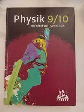 Physik 9/10. Lehrbuch. Gymnasium. Brandenburg