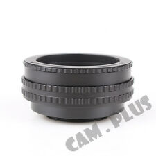 17mm-31mm 17-31 M52 To M42 Lens Adjustable Focusing Helicoid Macro Tube Adapter