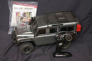 Traxxas 82056-4 TRX-4 Land Rover Defender RC 4X4 Scale Trail Crawler Truck