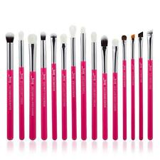 USA 15PCS  Eyeliner Pencil Blending Brow Eyeshadow Complete Brushes Jessup