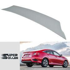 Unpainted Honda Civic10th Sedan V-Type DX Rear Boot Trunk Spoiler Wing 2017 NEW