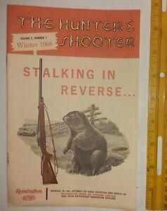 "RARE (TORONTO) ""REMINGTON- STALKING IN REVERSE - WINTER 1968"" 8 PAGE BOOKLET"