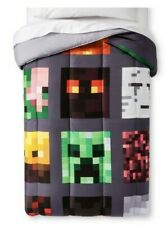 Minecraft Comforter Good vs Evil Full Double NEW Reversible FREE SHIPPING!