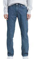 Levi's Mens Jeans Blue Size 34x32 511-Slim Fit Pinstripe Stretch Denim $69 115