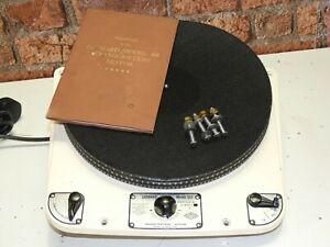 Garrard 301 Schedule 2 Oil Bearing Vintage Record Vinyl Deck Player Turntable