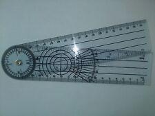 Goniometer Winkelmesser Winkelmessung Winkel Messer Kunststoff 35 cm