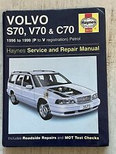 Haynes Manual 3573 - Volvo S70, V70 and C70, 1996 to 1999, petrol