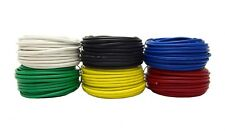 14 Gauge 25 Feet Spool Primary Wire Copper Clad Home Automotive 6 Colors 150'