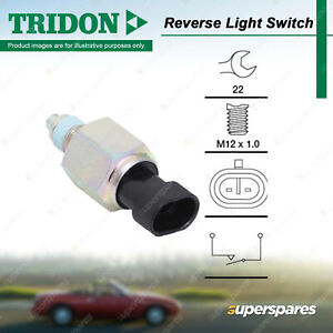 Tridon Reverse Light Switch for Alfa Romeo 147 156 166 Giulietta GT Mito Spider