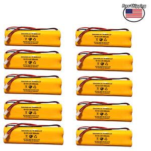 (10 Pack) D-AA650B DAA650B LITHONIA 4.8v 650mAh BYD All Fit Ni-CD AA 800mah