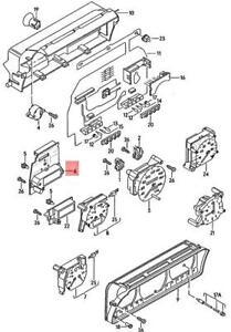 Genuine Volkswagen Multi-Function Indicator NOS VW Passat Syncro 357919044AJ