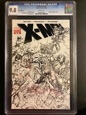 CGC 9.8 X-MEN #188 SKETCH VARIANT COVER 1ST APPEARANCE OF CHILDREN OF THE VAULT.