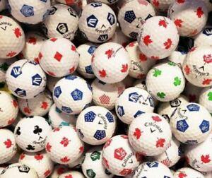 10 Callaway Chrome Soft Truvis Golf Balls Mixed Styles ALL PEARL / A Grade