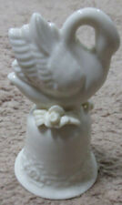 Ceramic World: Bell: Swan: 5"