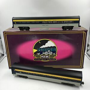 MTH 70' Streamline Chesapeake & Ohio Sleeper / Diner Set, O Gauge / O-42 Mt-6602