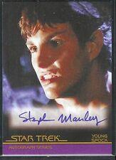 Complete Star Trek Movies Auto A37 Stephen Manley