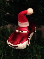 SANTA LIGHTNING MCQUEEN ORNAMENT custom christmas disney pixar cars 2 holiday
