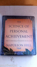 """The Science of Personal Achievement"" by Napoleon Hill, 6 tapes, ""17 Principles"""