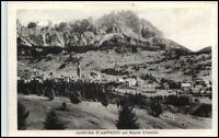 Cortina d'Ampezzo Dolomiti Monte Christallo AK ~1925 Cartolina Italiana