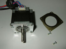 NEMA 23 Stepper Motor w/flat - CNC Mill Robot Lathe RepRap Makerbot  3D Printer